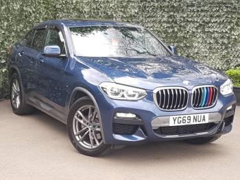 2019 (69) BMW X4 xDrive20d M Sport X 5dr Step Auto