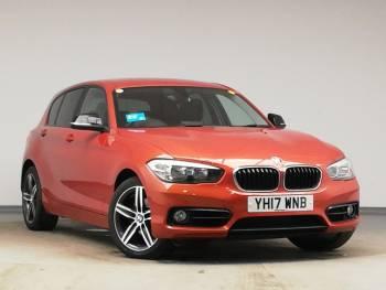 2017 (17) BMW 1 Series Diesel Hatchback 120d xDrive Sport 5dr [Nav] Step Auto