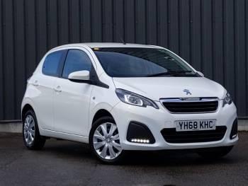 2018 (68) Peugeot 108 1.0 72 Active 5dr