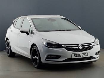 Vehicle details for 2016 (16) Vauxhall Astra