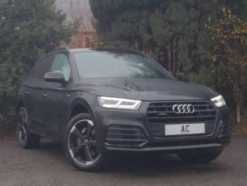 2020 (20) Audi Q5 40 TDI Quattro Black Edition 5dr S Tronic