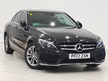 2017 (17) Mercedes-Benz C Class C220d 4Matic AMG Line Premium Plus 4dr Auto