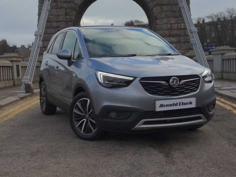 nearly new 2020 70 vauxhall crossland x 1.2 83 elite 5dr in linwood