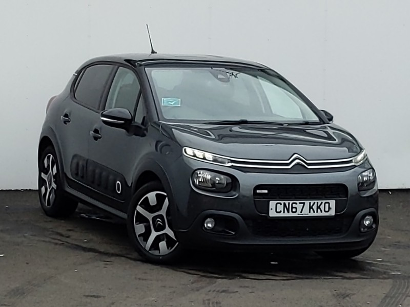 used 2017 67 citroën c3 1.2 puretech 82 flair 5dr in linwood