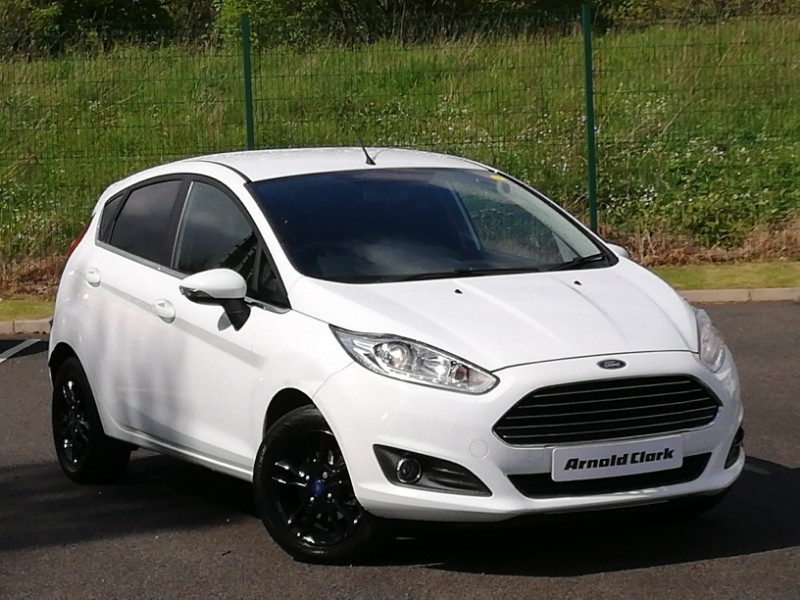 used 2016 16 ford fiesta 1.25 82 zetec 5dr in linwood