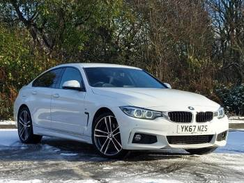 2017 (67) BMW 4 Series Gran Diesel Coup 420d [190] xDrive M Sport 5dr Auto [Prof Media]