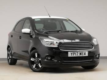 2017 (17) Ford Ka+ 1.2 85 Zetec Black Edition 5dr